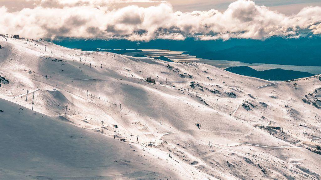 Skiing at Cerro Catedral