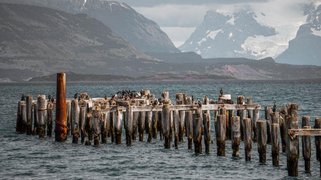 Puerto Natales coastal promenade