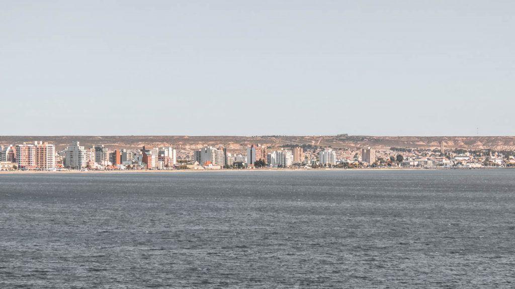 Seafront promenade of Puerto Madryn