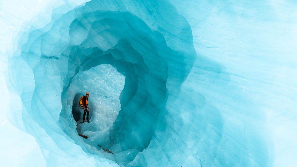 Exploradores Glacier Trek