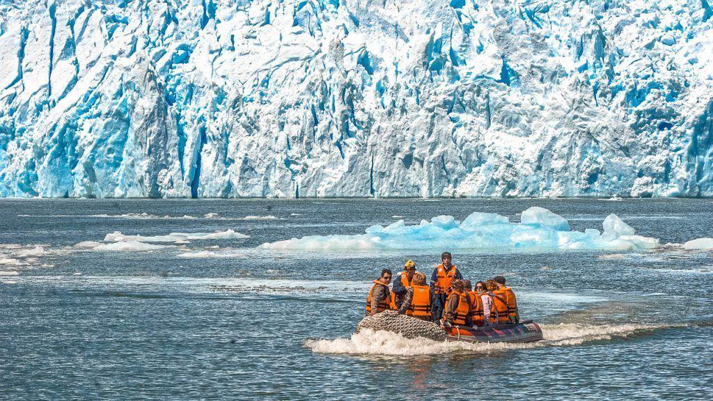 San Rafael glacier excursion, getting there